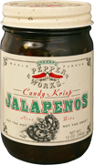 Texas Pepper Works Candy-Krisp Jalapeños